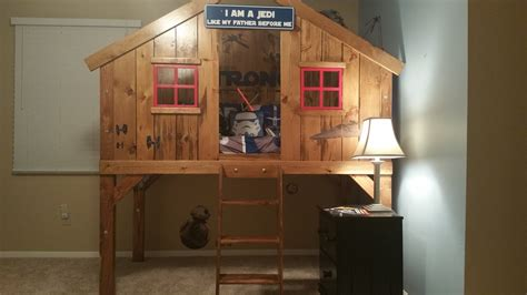 ana white clubhouse bed build diy projects