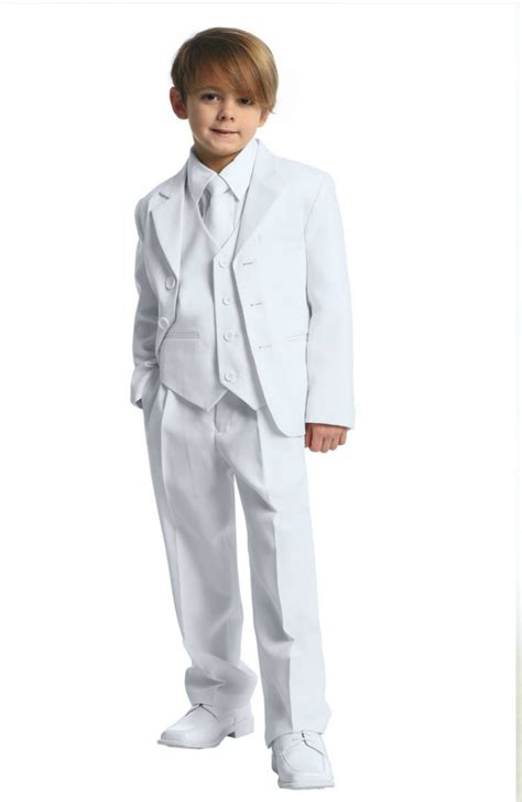CA_5003W - Boys Suit Style 5003- 5 Piece Suit Set- In Choice of Color - Boys First Holy ...