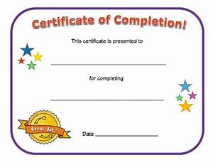 Certificate of Completion | All Kids Network