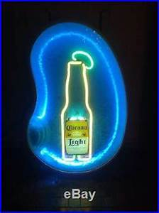 NEON Vintage Corona Light 3D Swimming Pool SIGN With Stand