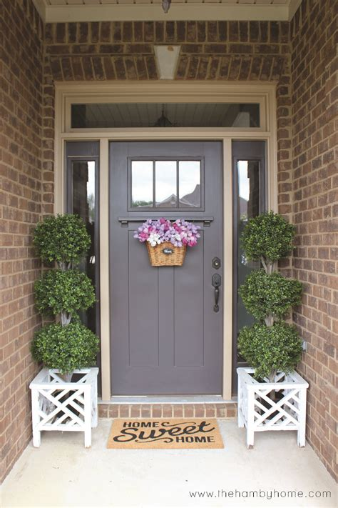 how to hang a wreath on a door how to hang a wreath on a craftsman style door and sources