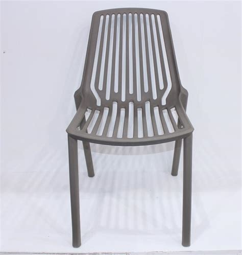 new style outdoor pp stackable plastic chair for sale
