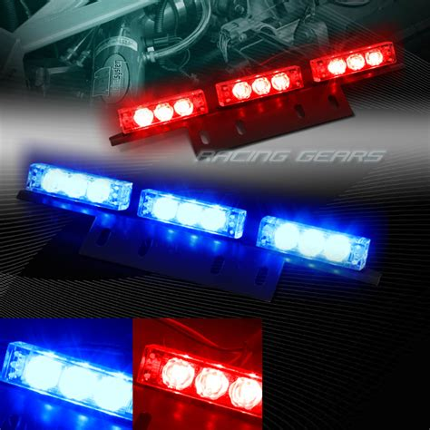 emergency lights for trucks 18 led blue truck emergency hazard warning flash