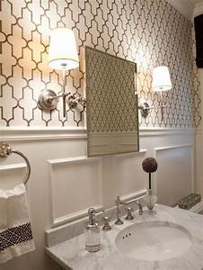 Wall designs for bathrooms : Best moroccan inspired wallpaper design ideas remodel