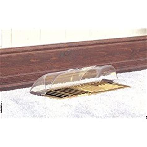 floor register air deflector