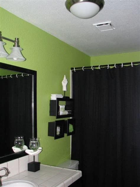 Green Color Bathroom by Master Bathroom Maybe Not Lime But Green Walls With
