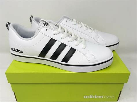 adidas neo s pace fashion sneakers shoes white black blue aw4594 new ebay