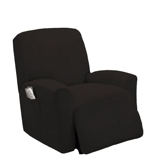 recliner loveseat slipcovers stretch fit black recliner slipcover chair slip cover