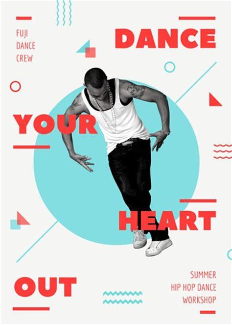 customize  dance flyer templates  canva