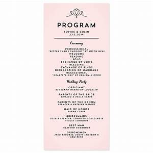 classic penmanship wedding programs wedding programs With wedding program wording ideas