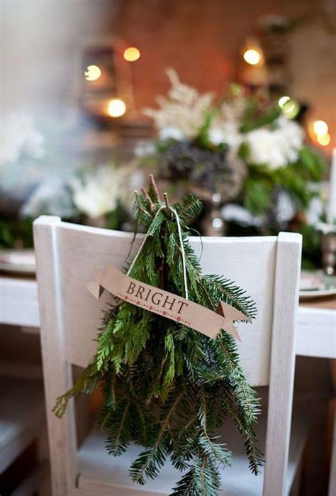 christmas wedding table decor ideas