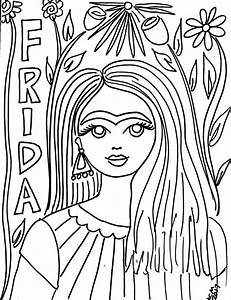 Free Frida Kahlo Coloring Pages   She Would Have Been 110