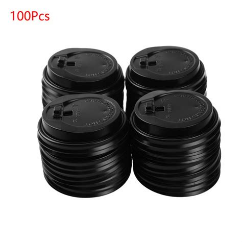 Every use of a reusable glass cup is one sip closer to a more sustainable world. 100Pcs Disposable Coffee Cup Lids Plastic Hot Cup Covers w ...