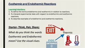Exothermic And Endothermic Reactions By Mbrighton24
