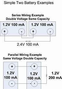 How To Wire Batteries In Series  Or In Parallel