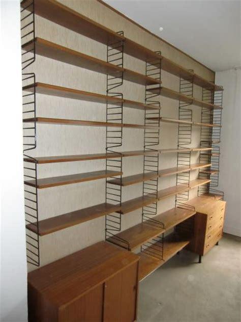 String Regal Diy by Ruempelstilzchen 60er String Regal System Teakholz