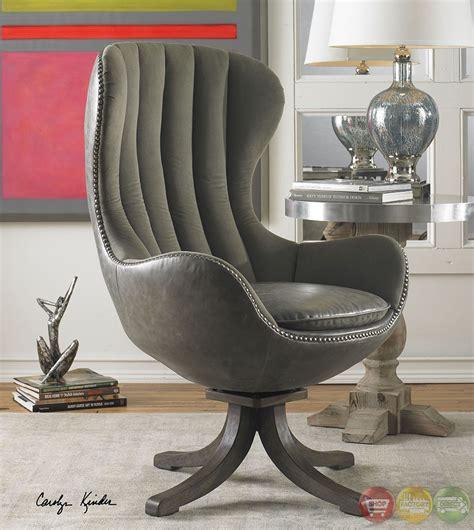 linford dove gray velvet upholstered swivel office desk