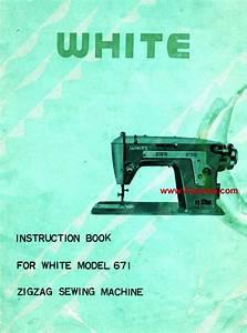 White 671 Instruction Manual