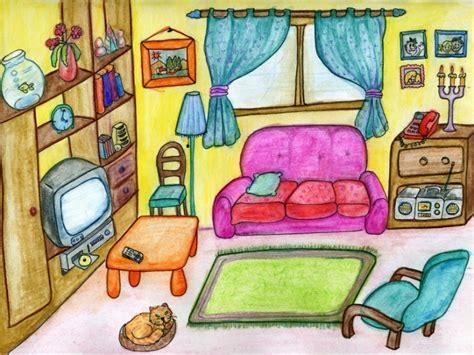 canape fauteuil vocabulaire salle de séjour