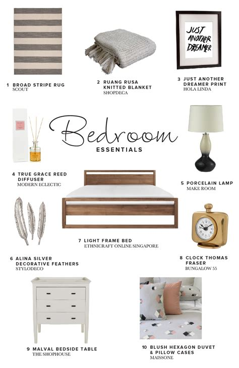 Essentials In Bedroom by Bedroom Essentials Travelshopa Guides