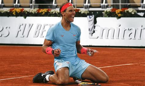 Nadal rips Djokovic in French Open final to match Federer ...