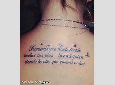 Que nadie corte tus alas Tatuajes 123