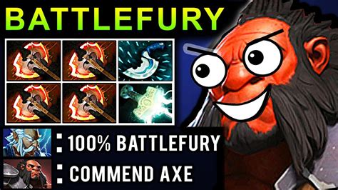 omg battlefury axe dota 2 patch 7 07 new meta pro gameplay youtube