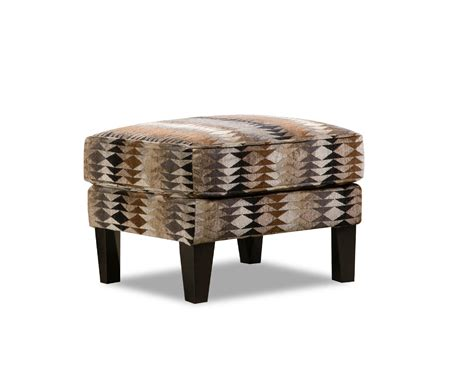 Sears Furniture Accent Tables by Simmons Upholstery Multi Geometric Editor Accent Ottoman