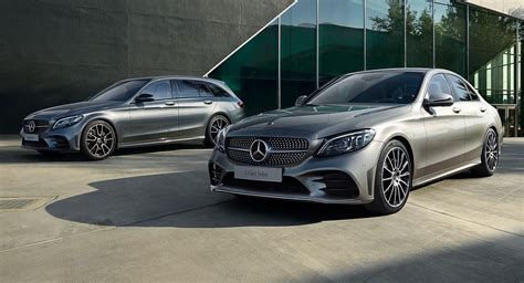 Facelifted Mercedes Cclass Saloon And Estate Go On Sale