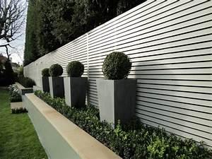 Cltures Et Palissades De Jardin Modernes
