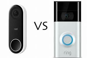 Nest Hello Vs Ring Video Doorbell 2  Which Smart Doorbell