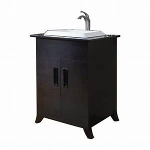 Shop allen roth single sink bathroom vanity with top for Bathroom vanities with sink