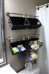 Top 10 lovely diy bathroom decor and storage ideas top for How to decorate a bathroom wall