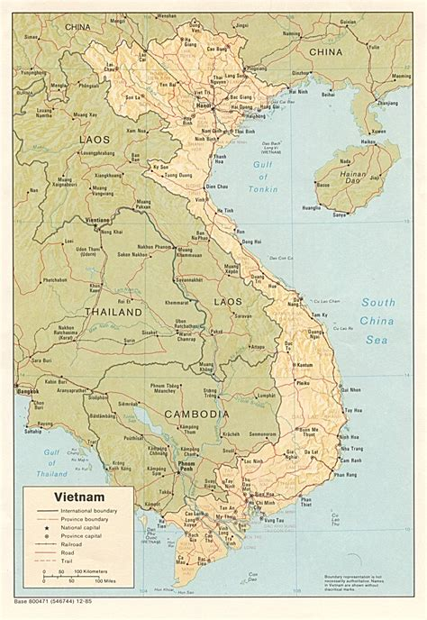 vietnam maps perry castaneda map collection ut library