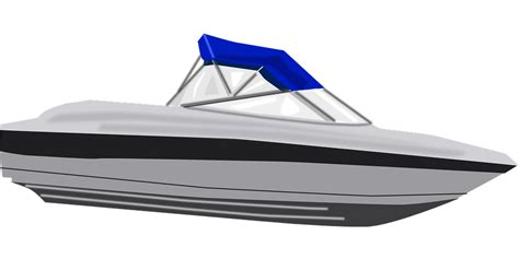 Fast Boat Vector by Free Vector Graphic Speed Boat Water Vehicle Fast
