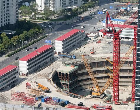 building site plan file shanghai tower foundation early 2010 jpg wikimedia