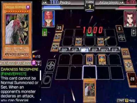 yu gi oh 5d s tag force 4 me darkness deck vs akiza