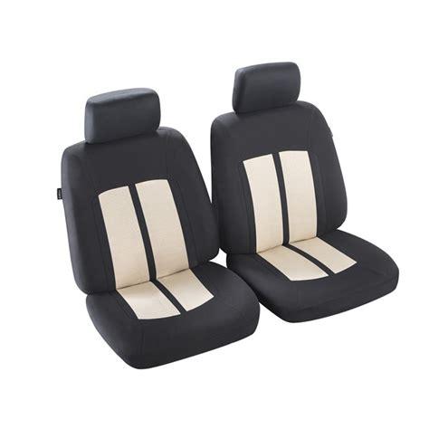 housse de siege norauto jeu de housses universelles 2 sièges avant voiture norauto