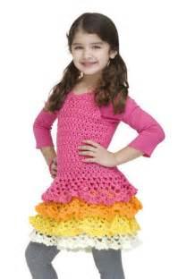 'O Rows Ruffles Dress Crochet Pattern