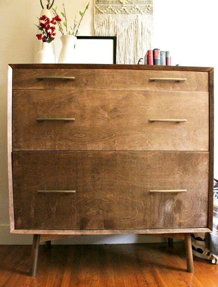 century modern dresser diy mitered edge wood joint with 90 degree cls Mid