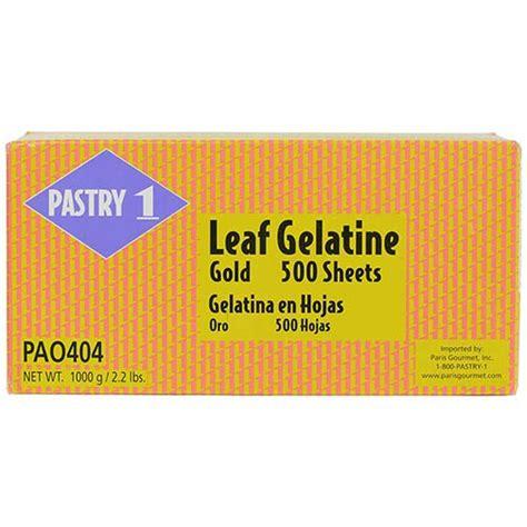 gelatin sheets gold leaf pastry gelatins glazes baking sheet gourmet food