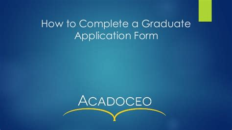 how to complete a job application form how to complete a graduate job application form