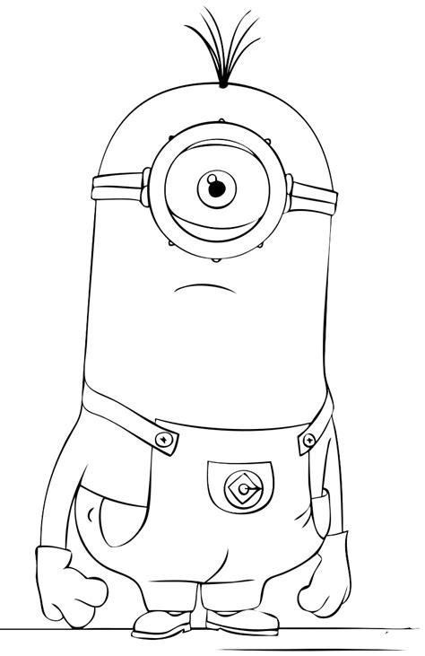 disegni da colorare minions pdf 14 disegni minions da colorare e stare
