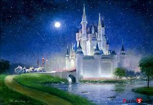 """Jigsaw Puzzles 1000 Pieces """"Cinderella's Castle"""" / Disney ..."""