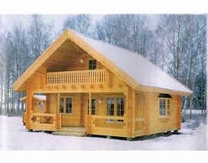 Dřevěná chata stavebnice