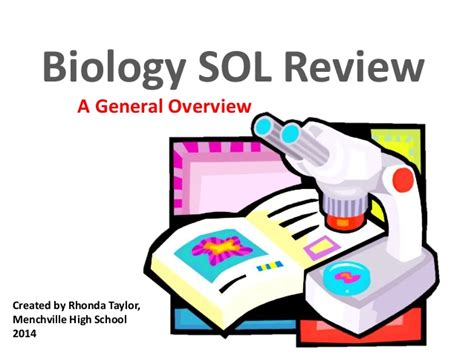 Sol Review by Biology Sol Review 2014