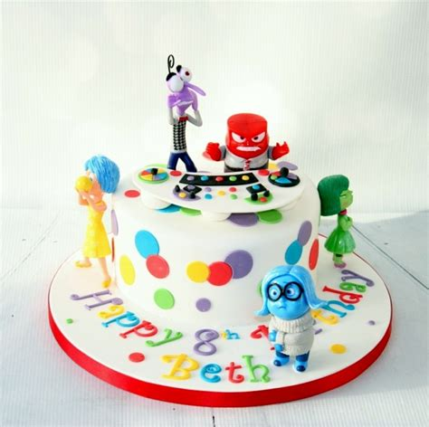 Baby Shower Cakes Girls by Inside Out Themed Cake
