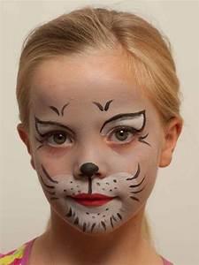 Karneval Schminken Tiere : kinderschminken katze nachher nina kinder schminken katze schminken und kinder ~ Frokenaadalensverden.com Haus und Dekorationen