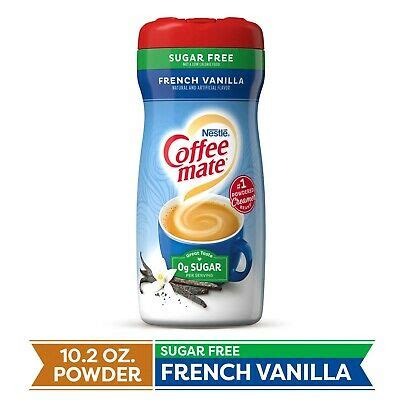 This perennial favorite blends rich creamer with just the right amount of bright vanilla notes for a taste that's simply beyond compare. Nestle Coffee Mate Sugar Free French Vanilla Coffee Creamer 10.2oz. 460706785395 | eBay