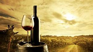 Red Wine Bottle and Glass HD Wallpaper | Cool HD Wallpapers